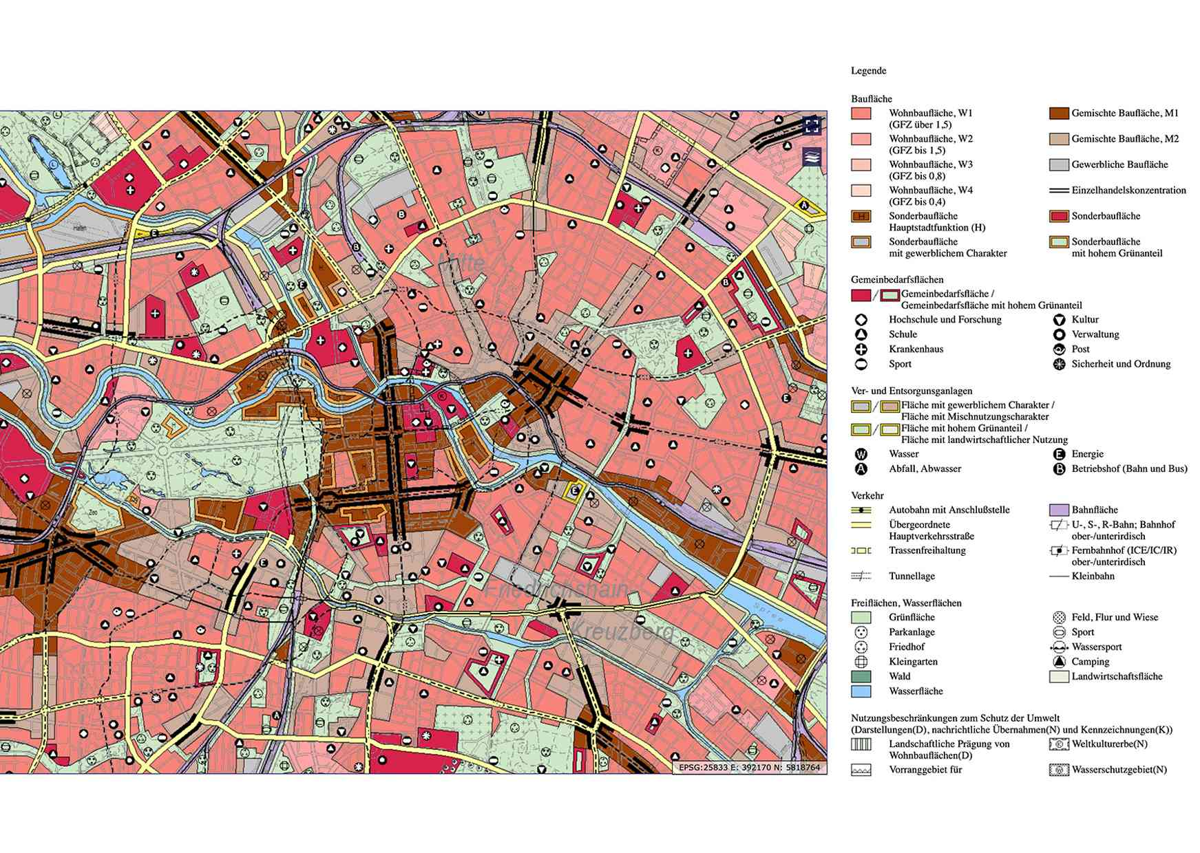 Berlin's Zoning Regulations & Land Use Map